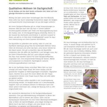Bauherren-Information September 2013